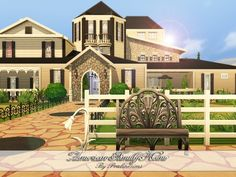 American Family Home by Pralinesims at TSR