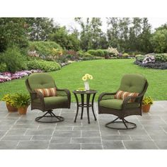 Free Shipping. Buy Better Homes and Gardens Azalea Ridge 3-Piece Outdoor Bistro Set, Seats 2 at Walmart.com