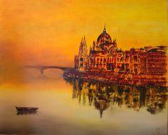 """""""Brume sur le Danube"""" par Régine Toussaint-Vairelles"""
