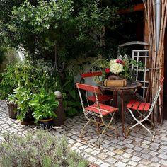 Love Garden, Summer Garden, Outdoor Furniture Sets, Outdoor Decor, Garden Table, Christen, Instagram, Home Decor, Country