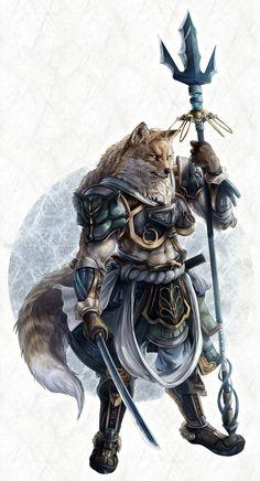 Fox warrior by ~kazashino on deviantART