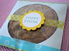 CD Sleeve Cookie Packaging @Amy Lyons Swiney