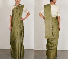 Plain Designer Silk Sarees