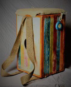 Backbag cajon Woodworking, Painting, Art, Art Background, Painting Art, Kunst, Paintings, Joinery, Performing Arts