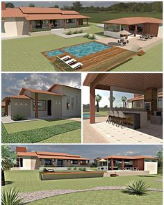 Weekend Cottages, My Dream Home, Beach House, House Plans, Sweet Home, Farmhouse, Mansions, House Styles, House Architecture