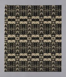 Designed by Josef Hoffmann (Austrian, 1870–1956) Produced by the Wiener Werkstätte (1903–1932) Austria, Vienna, Santa Sofia(Panel) (Dress or Furnishing Fabric)