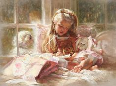 American child artist, Kathryn Andrews Fincher (1949)