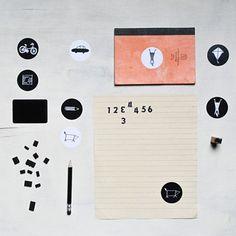 Samolepky / to je moje / Zboží prodejce Jou Jou Office Supplies, Notebook, The Notebook, Exercise Book, Notebooks