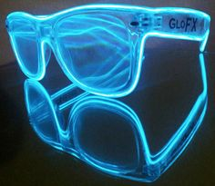 BLUE Luminescence Diffraction Glasses