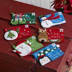 Letters to Santa Bucilla Card Holder Kit (Set of 6)