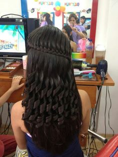 Hair And Beauty Award 2017 Long Weave Hairstyles, Braided Hairstyles For Wedding, Girl Hairstyles, School Hairstyles, Front Hair Styles, Quinceanera Hairstyles, Natural Hair Styles, Hair Cuts, Hair Beauty