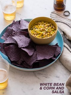 White Bean and Corn Salsa | Spoon Fork Bacon @Spoon Fork Bacon