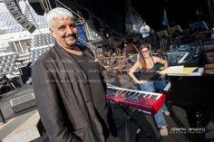 Pino Daniele - Sinfonico - Sound Check - Centrale del Tennis - 10-07-2013