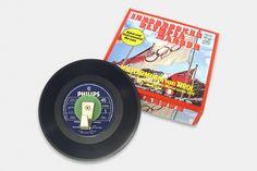 Vinyl-Single-Garderobe Music Instruments, Winter Games, Cloakroom Basin, Musical Instruments