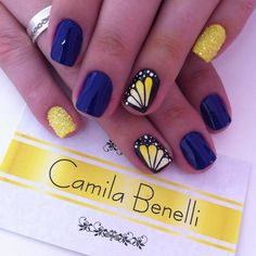 Instagram by camila.benelli #nails #nailart #naildesigns