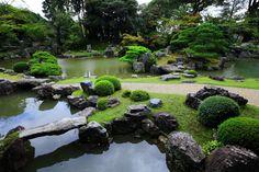 三宝院 庭園 美しく力強い桃山時代の庭園