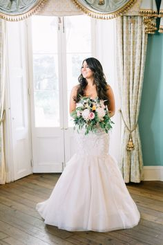 fit and flare wedding dress | Catherine Ann