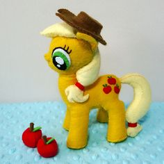 Felt Patterns - My Little Pony Apple Jack Plush Patterns