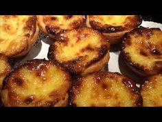 Pasteis de Natas ! - YouTube Portuguese Rice, Portuguese Recipes, Marie Biscuit Cake, Sweet Treats, Deserts, Muffin, Dessert Recipes, Cooking Recipes, Favorite Recipes