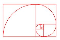 Golden Spiral (rule of thirds/golden number) ... The Golden Mean/Sacred Geometry