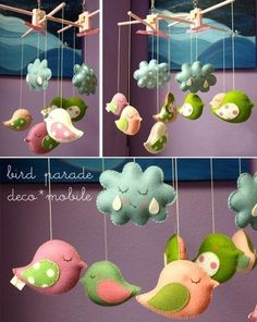 The Art of Everyday: inspiration: baby mobiles #baby #babies #mobiles #nursery