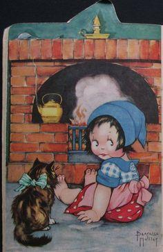 Béatrice Mallet card - Little Polly Flinders