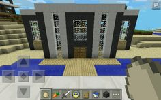 1000 images about my mcpe creations on pinterest for Modern house mcpe 0 14 0