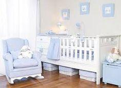 Los tonos pasteles son relajantes, dando un buen resultado para las habitaciones de los bebés.