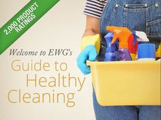 EWG's Guide to Healthy Cleaning  Search safety ratings for more than 2,000 household #cleaning products.