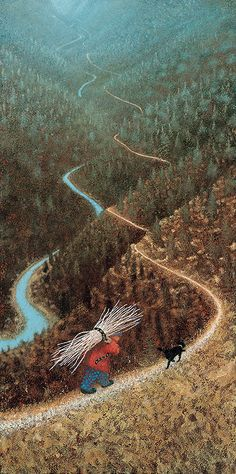 **White Dirt Trail by Simon Garden