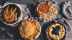 Havest Pie Leaf Crust Design Ideas