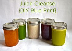 DIY Juice Cleanse, great recipes now that I have a juicer!