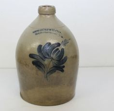 Sold $250 ONE GALLON COWDEN AND WILCOX - HARRISBURG PA - FLORAL DECORATION 11""