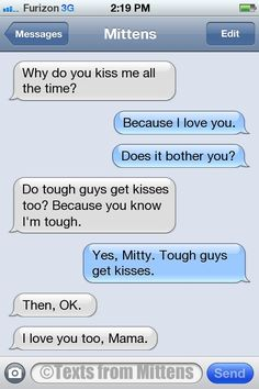 NEW Daily Texts from Mittens: The Kisses Edition More Mittens at Catster.com.