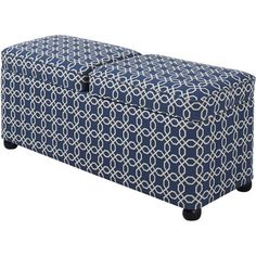 Tuck this patterned bench under a living room window for a lovely seat with a view, or add it to the foot of your bed to hold stacks of folded throws and fre...