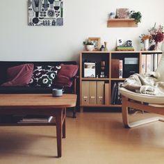 マリメッコ/カリモク60/無印良品/リビングのインテリア実例 - 2014-10-31 11:12:33 | RoomClip(ルームクリップ)