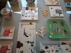 collage dishes- atelier tempel- amsterdams smallest departmentstore