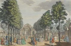 piazza at Vauxhall Gardens Garden S, Spring Garden, The Pleasure Garden, City Farm, London History, Local Parks, Regency Era, Old London, 18th Century