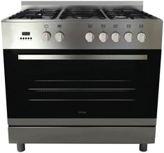 Omega OF991XS 90cm Dual Fuel Upright Cooker NEW