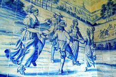 Painel de azulejos Palácio Nacional de Sintra - Sala dos Brasões