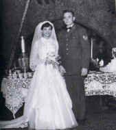 Johnny Cash and Vivian Liberto
