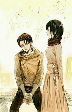 Ackermans :) fyi I do not ship these two in any capacity | SNK
