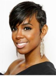 It seems that Kelly Rowland has become hotter and hotter. Her makeup and her outfits stun us all. But the fiercest attention is her hairstyle. Now, let's take a look at Kelly Rowland's most. Asymmetrical Hairstyles, Fringe Hairstyles, Pixie Hairstyles, Hairstyles With Bangs, Everyday Hairstyles, Bouffant Hairstyles, Beehive Hairstyle, Updos Hairstyle, Brunette Hairstyles