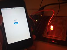 Control a LED from your iPhone!