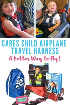 Stop lugging that car seat on airplanes! The CARES child airplane travel harness keeps toddlers and preschoolers safe while flying. Read our review to discover why this 1-pound airplane safety harness makes air travel easier for families with young children. #travelwithkids #familytravel #toddlers #preschoolers #flying