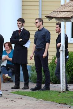 "Sam Witwer, Josh Dallas and Colin O'Donoghue - Behind the scenes - 6 * 1 ""The Savior"" - 12th July 2016"