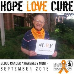 Volunteers are the lifeblood of the LRF.  Http://bit.ly/1QLez3E #HopeLoveCure #Hope4ACure