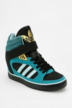 adidas Amberlight Hidden Wedge High-Top Sneaker #urbanoutfitters