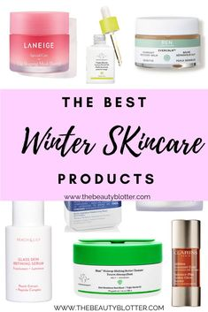 Does your skin get extra dry and sensitive during the cold weather months? I am sharing the best winter skincare products to incorporate into your skincare routine, including a fabulous moisturizer that is a LaMer dupe and the best korean lip sleeping mask to baby your lips. #winterskin #coldweatherskin #sensitiveskin #rosacea