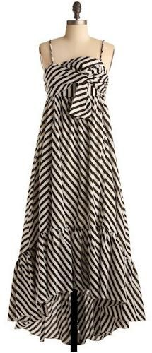 I really, really want a striped maxi dress!